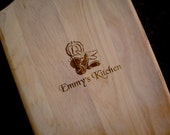 Engraved Cutting Board - Paddle Style - PERSONALIZED your way