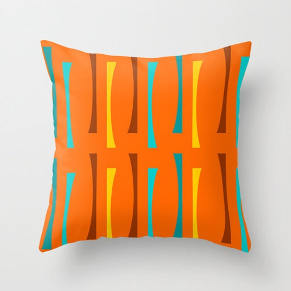 Mid Century Throw Pillow : Modern Pillow Modern Throw Pillow Mid Century Modern Pillow