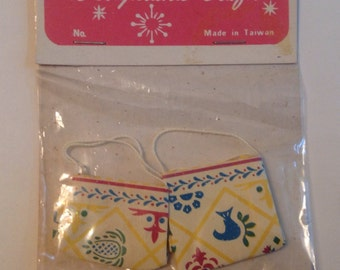 Designland Crafts Two Miniature Paper Shopping Bags