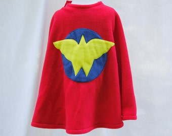 Wonder Woman Inspired Cape