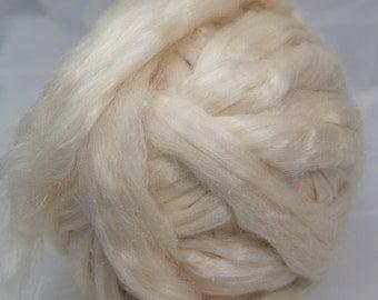 Tussah Silk Bleached Top  - 4 oz