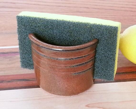 Sponge Holder Iron Red EACH ONE UNIQUE