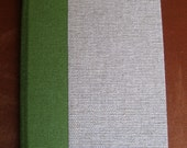Handbound Canvas Pocket Address Book