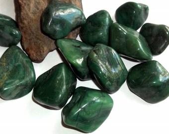 Polished Buddstone African Jade Gemstone Tumble Stone Specimen Reiki Crystal