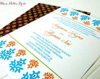 Indian Hindu Wedding Invitations