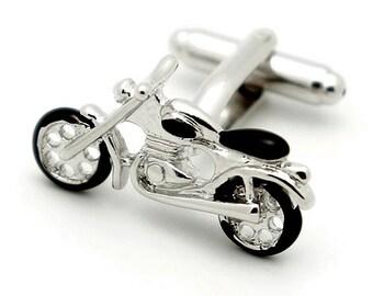 Motorcycle cufflinks