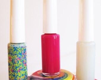 Pick Any 3 - Natural Non Toxic Nail Polish