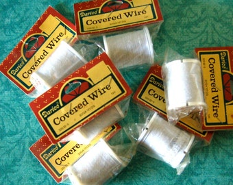 6 Rolls of Covered Wire, 10 Yards in Each Roll, New in Package