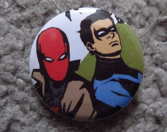 Red Hood and Nightwing Pin