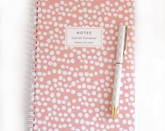 Personalized Notebook - Uneven Spots