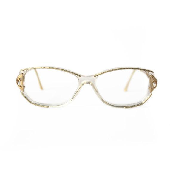 Gold Coloured Glasses Frames : Special Discount CAZAL Vintage Eyeglasses gold color metal