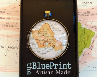 Map Christmas Ornament, You choose the special place in the heart. / HONEYMOON Gift / Wedding Map Gift / Travel Tree Ornament /