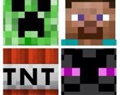 6 Minecraft Pillows