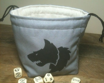 Galactic Wolf Dice Bag