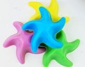 30 BULK STARFISH SOAPS - Choose Scent & Color, fishy, diy party favors, birthday, kids, baby shower, beach, ocean, star fish, fishing