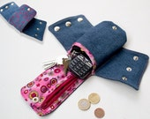 Cuff Wallet with Zipper Change and Big Money Pocket sewing pattern