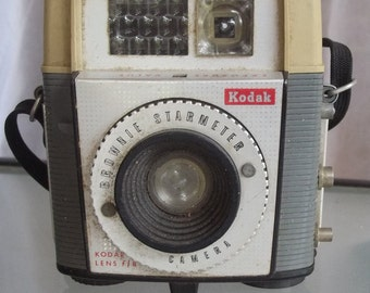 Kodak Brownie Starmeter Camera, Vintage Photography, Photos, Camera, Home Decor, Photo Collectible