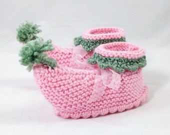 Pink Elf booties, Elf slippers for toddler