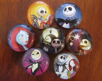 THE NIGHTMARE BEFORE CHRiSTMAS Magnets