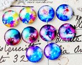 10pcs 12mm Handmade Photo Round Glass Cabochon -Image Glass Cabochon- -(HPGC-MIXSS-97)
