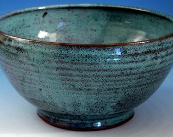 Large  Wheel-thrown Stoneware Bowl
