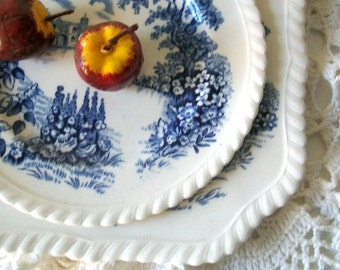 Vintage Saucer and Plate