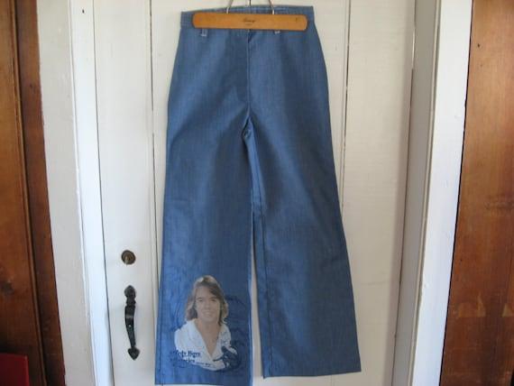 Shaun Cassidy Hardy Boys Vintage Jeans Bell Bottoms Pants
