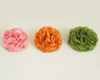 Carnation Flower Pins - Choose Your Color - Eco Friendly