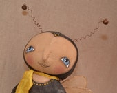 Primitive DOLL Bumble Bee original by Robin Seeber