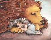 The Daughter of a Lion- Art Print