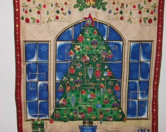 Christmas Advent Calendar - Snowflake Windows