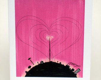 Radio tower valentine