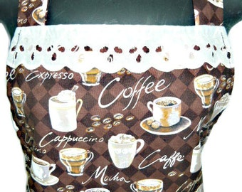 Coffee Lovers  apron