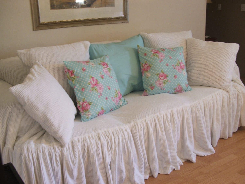 Chenille Sofa Slipcover Throw