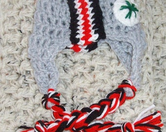 Brutus the Buckeye ~ Drunken Aunt Wendy - Crochet Pattern