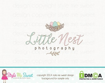 nest logo design doula logo design birth logo design baby logo design photography logo graphic design photographers logo premade logo