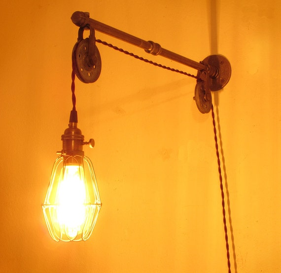 Industrial Pipe Wall Light: Unavailable Listing On Etsy