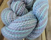 WORSTED Weight Yarn - Handpainted Peruvian Cotton -  Luna Paints - 100g / 164 yards -  Cascade