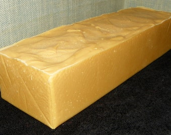 Aromatherapy for Stress 3.5 Pounds Soap Loaf Cold Process Soap w Argan Oil, Shea Butter & Avocado Oil