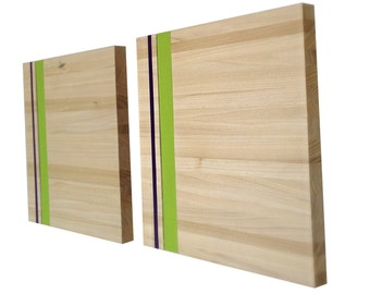 Wood Wall Art - Wood Art - Reclaimed Wood Art - The Valencia Collection