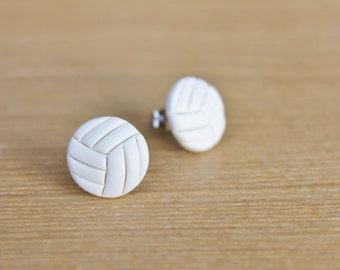 Sporty Girl Earrings... Volleyballs