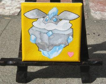 Carbink mini painthing