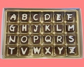 I Miss You Cubic Chocolate Letters Secret Message Puzzle Fun Long Distance Gift for Her Him Men Women AK APO Canada International Shipping