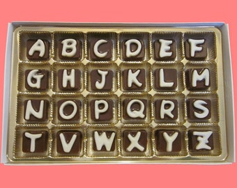I Miss You Chocolate Gift Secret Message Puzzle Fun Long Distance Relationship Gift Him Men Cubic Chocolate Letter International Shipping