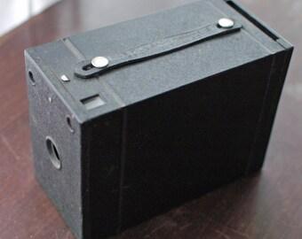 Kodak No. 2 Film Pack Hawk-Eye Box Camera