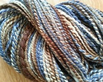 Bluebird Handspun Polwarth Heavy Worsted Weight Wool Yarn