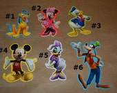 Mickey Mouse and Friends Chipboard (Disney Licensed)