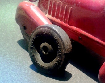 Buddy L Toy Rubber Tire