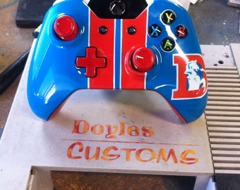 Custom sports themed xbox one controller