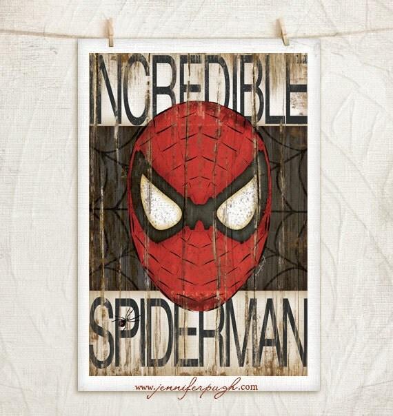 Https Www Etsy Com Listing 186675730 Spiderman 12x18 Art Print Comic Art